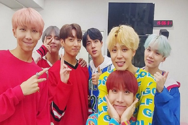 "BTS ""DNA"" Meroket di 'Hot 100 Chart' Billboard"
