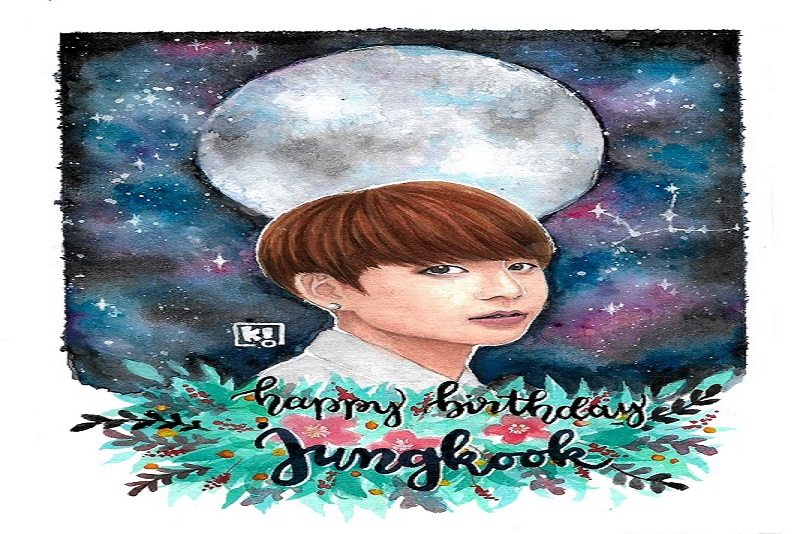 Happy Birthday Golden Maknae (Jeon Jung-kook)