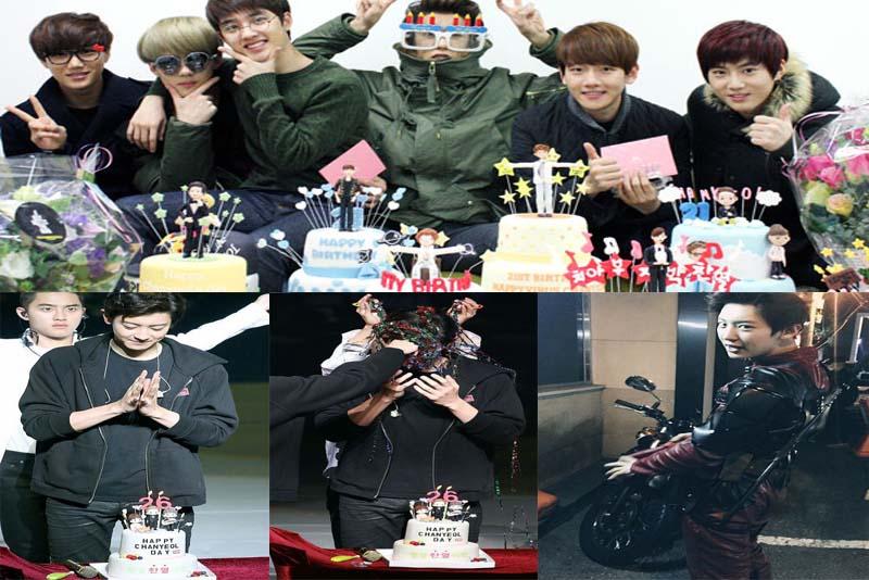 Chanyeol Exo Birthday Mendapat Message Dari Para Member Exo Dan Fans Guebanget Com