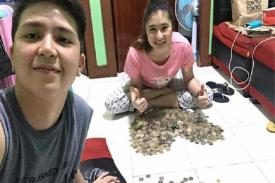 Pasangan Muda Ini Rela Menabung Uang Koin Hingga Rp 260 Juta, Untuk Apa Ya?