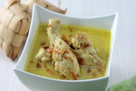 Makna Filosofi Hidangan Opor Ayam Bersama Ketupat di Hari Lebaran
