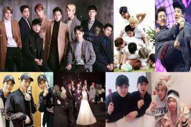 Saling Kagum dan Support Selalu melekat dalam member EXO