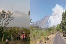 Gunung Agung Dilaporkan Meletus, Masyarakat Diminta Menyiapkan Masker Penutup Hidung, Mulut, dan Mata