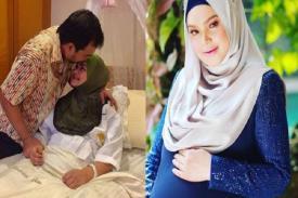 Mengharukan 11 Tahun Menunggu, Akhirnya Siti Nurhaliza Melahirkan Anak Pertamanya