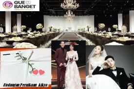 Undangan Penikahan Songsong Coupe sudah Beredar Putih Sederhana
