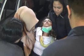 Vanessa Angel Pingsan saat Menjalani Pemeriksaan