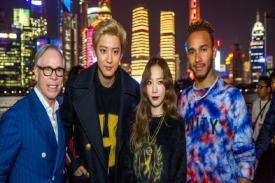 Tommy Hilfiger Gandeng  Chanyeol EXO di Fashion Show