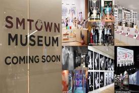Museum SM Entertainmet atau SMTOWN Museum, wooow.
