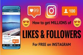 Dapatkan Free Likes Dan Free Followers Instagram Hanya Di Sini