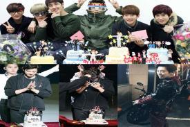 Chanyeol EXO Birthday Mendapat Message dari Para Member EXO dan Fans